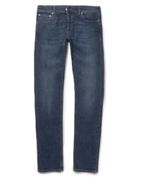 Alexander McQueen Slim Fit Washed Denim Jeans