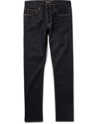 Tom Ford Slim Fit Washed Stretch Denim Jeans