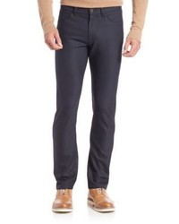 Theory Slim Fit Wool Blend Jeans