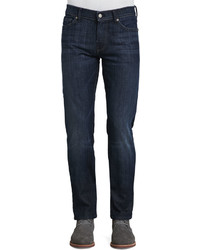 7 For All Mankind Slimmy Slim Fit Jean La Dark
