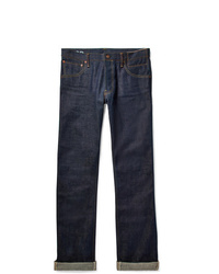 VISVIM Social Sculpture 01 Slim Fit Raw Selvedge Denim Jeans