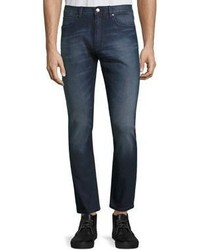 Hugo Boss Solid Cotton Jeans