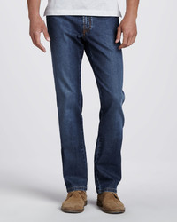 Brioni Stelvio Five Pocket Jeans Vintage Denim