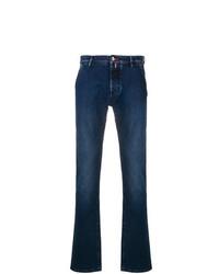 Jacob Cohen Stitching Details Jeans