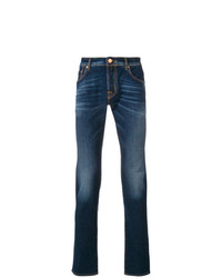 Jacob Cohen Stonewashed Slim Fit Jeans