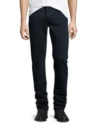 Burberry Straight Fit Clean Wash Stretch Jeans Dark Indigo