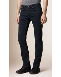 Burberry Straight Fit Washed Indigo Jeans