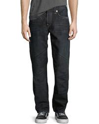 True Religion Straight Leg Cotton Denim Jeans Canyon Diablo