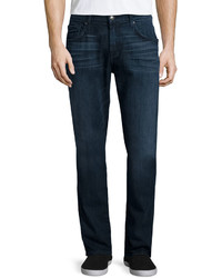 7 For All Mankind Straight Leg Foolproof Denim Jeans Alpha