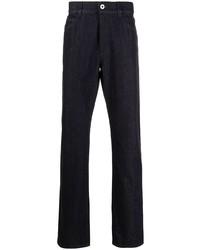 Salvatore Ferragamo Straight Leg Mid Rise Jeans