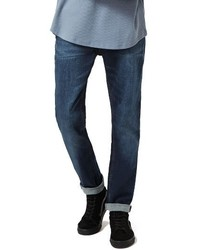 Topman Stretch Slim Fit Jeans
