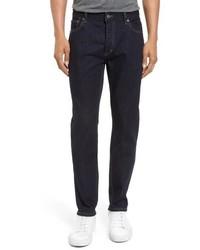 Topman Stretch Slim Fit Raw Denim Jeans