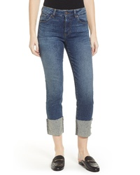 SWAT FAME Sts Blue Lucia Cuffed Straight Leg Jeans