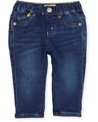 Armani Junior Super Soft Denim Skinny Jeans Blue Size 12m 3