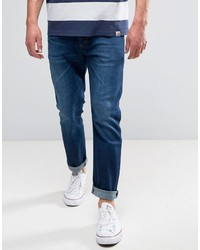 Wrangler Tapered Jeans In For Real Wash