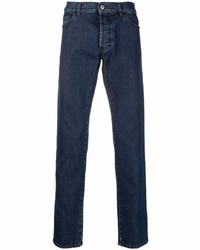 Marcelo Burlon County of Milan Tempera Logo Print Jeans