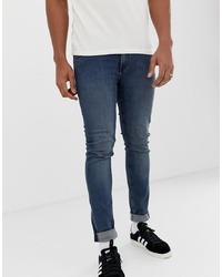 Cheap Monday Tight Jeans In Blue