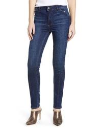 Paige Transcend Vintage Hoxton High Waist Ankle Straight Leg Jeans