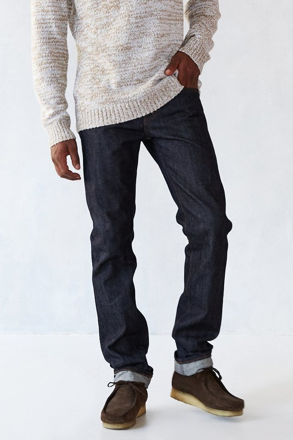 Urban Outfitters Unbranded Skinny Selvedge Jean