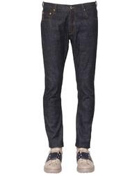 Valentino 18cm Slim Fit Cotton Denim Jeans