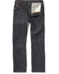Levi's Vintage Clothing 1947 501 Shrink To Fit Straight Selvedge Denim Jeans
