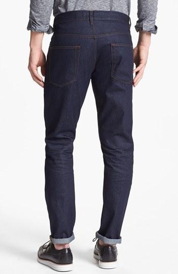 Topman Vintage Slim Fit Raw Jeans