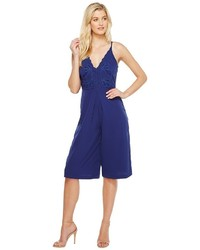 Adelyn Rae Adelyn R Emelia Woven Culotte Jumpsuit Rompers One Piece