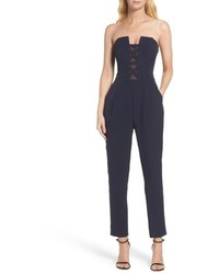 Adelyn r strapless jumpsuit medium 4952074