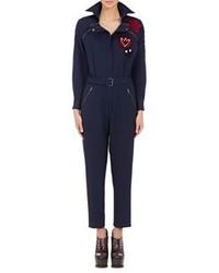 Maison Margiela Belted Zip Front Jumpsuit