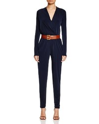 MICHAEL Michael Kors Michl Michl Kors Draped Faux Wrap Jumpsuit