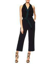 3.1 Phillip Lim Multi Silk Draped Judo Jumpsuit