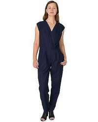 American Apparel Rsavt303 Viscose Twill Jumpsuit