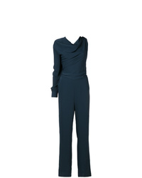 MM6 MAISON MARGIELA Single Sleeve Drape Neck Jumpsuit