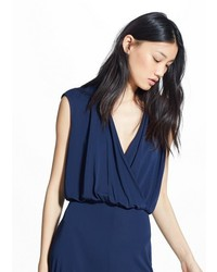 Mango Outlet Wrapped Jumpsuit