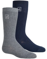 Sperry Knee High Socks 2 Pack Over The Calf