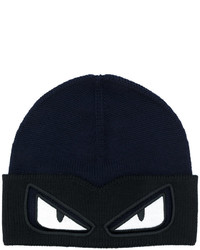 Fendi Eyes Knitted Beanie Hat