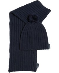 North Sails Rib Knit Hat Scarf Set