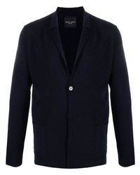Roberto Collina Blazer Style Knitted Cardigan