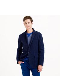 Ludlow Fielding Knit Sportcoat In English Wool