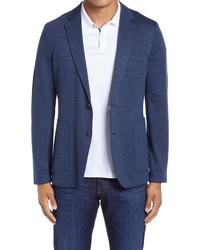 Nordstrom Men's Shop Fit Melange Knit Sport Coat