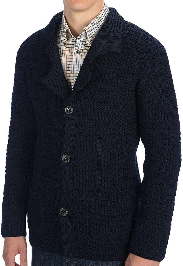 Jg Glover Co Peregrine By Jg Glover Knit Blazer Merino Wool Where