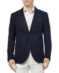 8f3bbee51dd32 ... Etro Knitted Cotton Blend Blazer