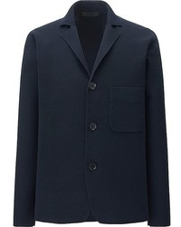 Uniqlo Merino Blended Milano Ribbed Jacket