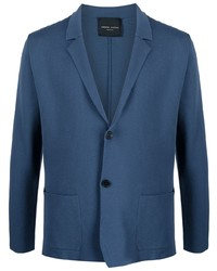 Roberto Collina Single Breasted Knitted Blazer