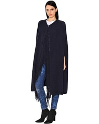 Stella McCartney Cashmere Wool Knit Cape