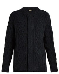 Navy Knit Cardigan
