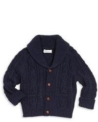 Ralph Lauren Babys Cable Knit Cardigan