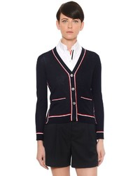 Thom browne fine merino wool knit cardigan medium 1126988