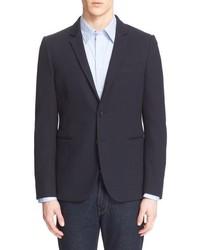 Paul Smith Ps Extra Trim Knit Cotton Blazer