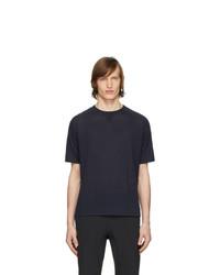 Z Zegna Navy Knit T Shirt